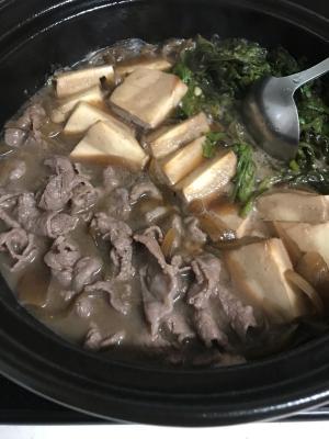 オシャレな風味の肉豆腐!すき焼きなどにも使えます。
