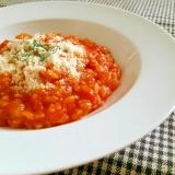 残りご飯deトマトチーズリゾット
