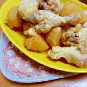 鶏手羽肉とじゃがいものすっぱ煮