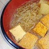 厚揚げと白滝のぽん酢煮