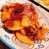 韓国風♪豚肉と大根の甘辛炒め