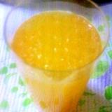 つぶつぶのオレンジジュース