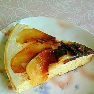 フライパンでできるリンゴのケーキ♪