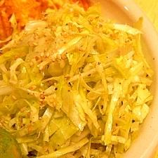 キャベツのゴマ油サラダ★混ぜるだけで韓国風