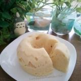 糖質制限★小麦粉不使用★チーズおからレンジケーキ♡