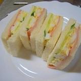 お手軽なサンドイッチ