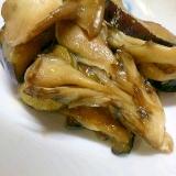 簡単に舞茸となすの炒め物