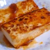 焼肉のたれで簡単♪豆腐ステーキ