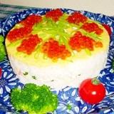 押し寿司deケーキ