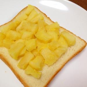 おやつトースト☆アップルクリームチーズトースト