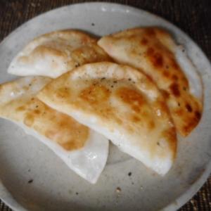 カニカマとチーズのおつまみ餃子