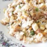 高野豆腐の糖質制限ヘルシーチャーハン