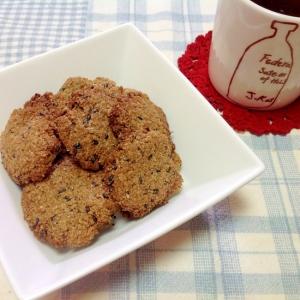 糖質オフ♪ふすまクッキー(^○^)