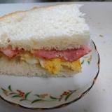 ベーコン・卵サンド