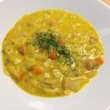 幼児食に最適☆カレー風味かぼちゃ豆乳スープ
