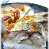 塩麹に漬けこんだ鯖で焼きさば寿司