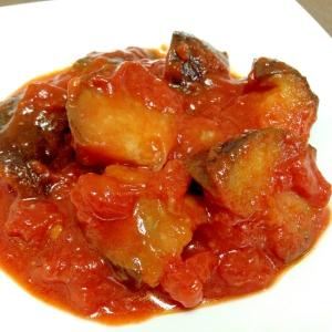 ストックに便利☆なすのトマト煮