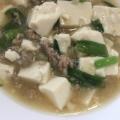 ニラ入りマーボー豆腐