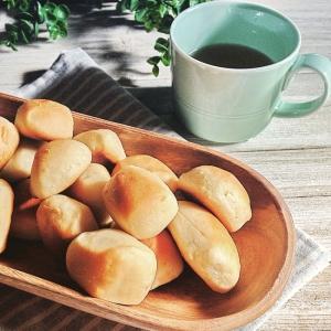 簡単☆ほんのり甘い♪一口スナックパン☆