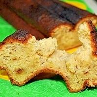 お通じよくなる 黒糖バナナパウンドケーキ