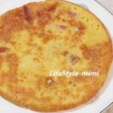 自然薯(とろろ芋)と卵のフワフワ焼き1697