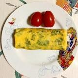 サンチュの卵焼き