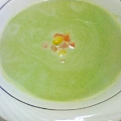 冷凍野菜で時短!ブロッコリークリームスープ