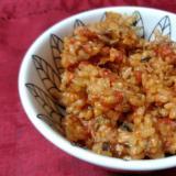 炊飯器で楽チン!鯖缶とトマト缶の炊き込みご飯