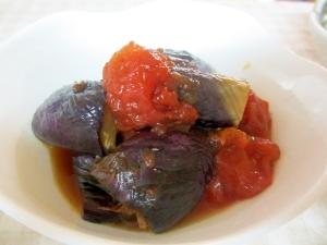 油ナスとトマトのひんやり煮浸し