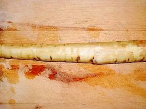 アルミ箔でOK!ごぼうの簡単皮剥き