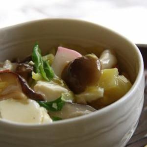 豆腐のヘルシー丼@玄米