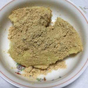 おからと豆腐ときな粉の蒸しパン風