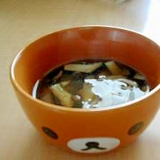 レンジできのこオイスタースープ