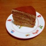 ふわふわのチョコレートケーキ