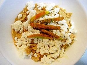 玄米フレーク&カッツテージチーズ ❤ヨーグルト❤