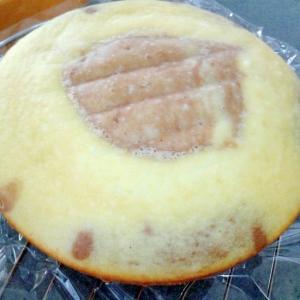 炊飯器で簡単☆チョコ入りミックスケーキ♪