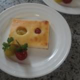 トマト好きのための♪プチトマトのチーズケーキ