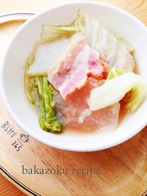 ストウブ★白菜のスープ