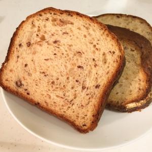 ホームベーカリーで*つぶつぶあずきのミルクパン