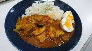 夏野菜カレー(バーミキュラ)