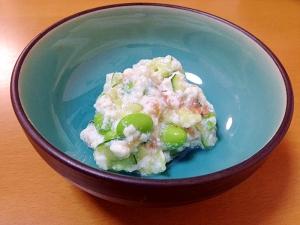 冷んやり豆腐小鉢( ´ ▽ ` )ノ梅〜