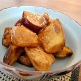 鶏肉とさつまいもの甘酢照り焼き
