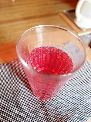 元気の出るジュース☆砂糖なし赤しそジュース
