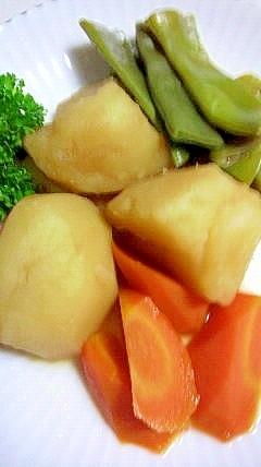 いんげんとじゃが芋の煮物