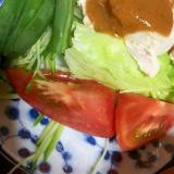 ヘルシー棒棒鶏サラダ