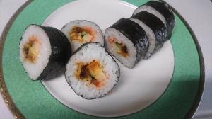 簡単に巻き寿司