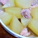 夏に食べたい♪冬瓜と鶏肉の煮物