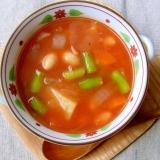 簡単!野菜と大豆たっぷり☆ミネストローネスープ