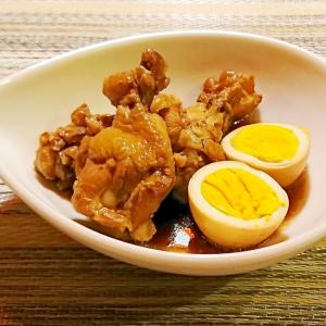 鶏手羽元と玉子のお酢煮