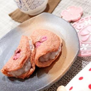 オーツ麦ミックス粉で作る低糖質☆桜餅
